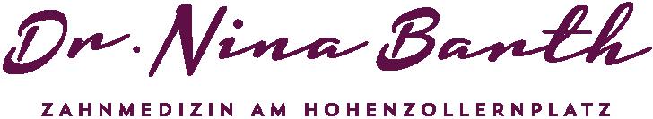 Logo von Dr. Nina Barth, Zahnärztin am Hohenzollernplatz.